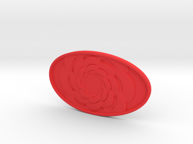 Carla Belt Buckle 3d printed