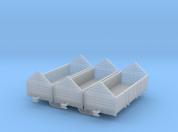 f-160fs-cfdt-wagon-tombereau-a-faitiere in Smooth Fine Detail Plastic