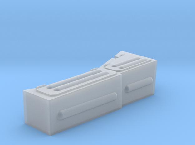 1/48 scale Finnish T-72 Turrret Storage Box in Smooth Fine Detail Plastic