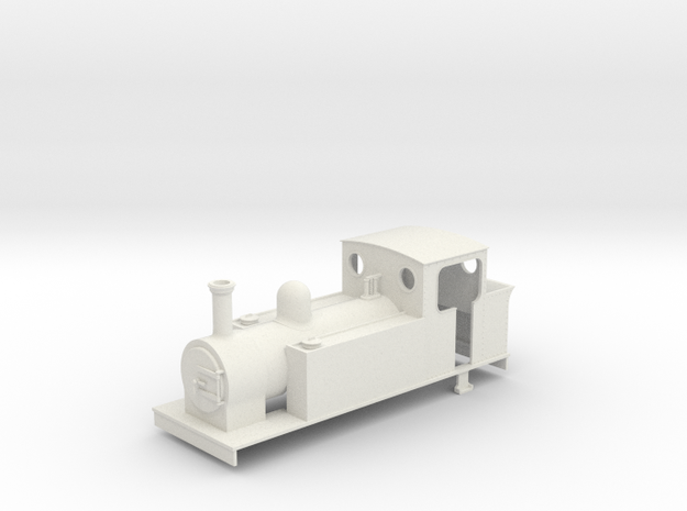 On16.5 Freelance 0-6-2t loco 3d printed
