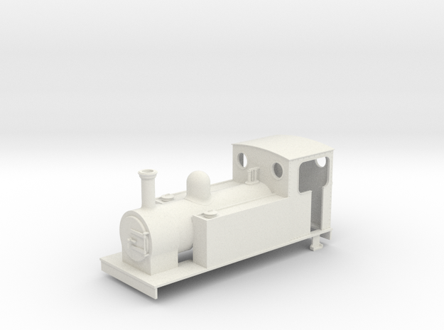 On16.5 Freelance 0-6-0t 3d printed