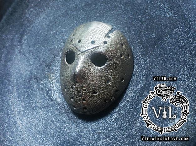 PART 6 Pendant ⛧ VIL ⛧ in Polished Bronzed-Silver Steel