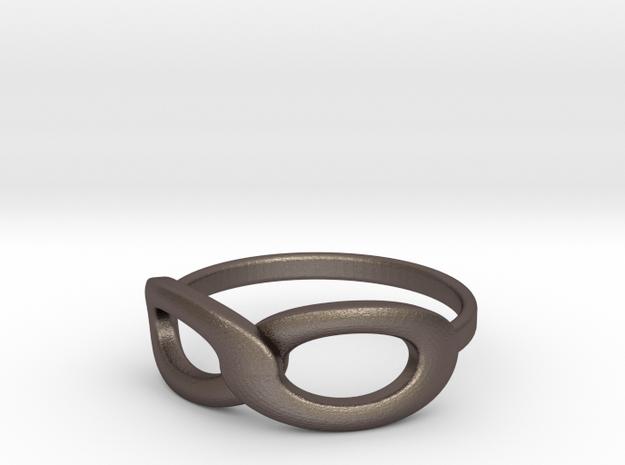Infinity Ring 3d printed