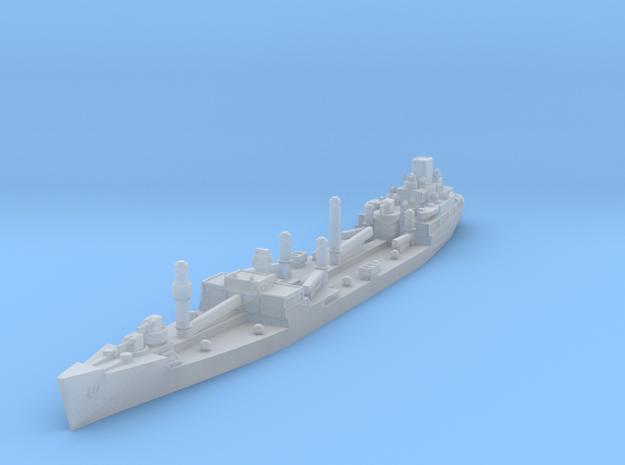 USS Platte Oiler 1/1800 in Smooth Fine Detail Plastic