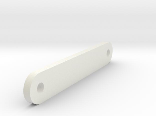 Servoholder - Magic Vee in White Natural Versatile Plastic