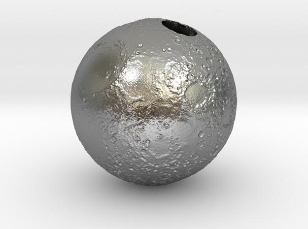 Full Silver Moon (Pendant 20mm)