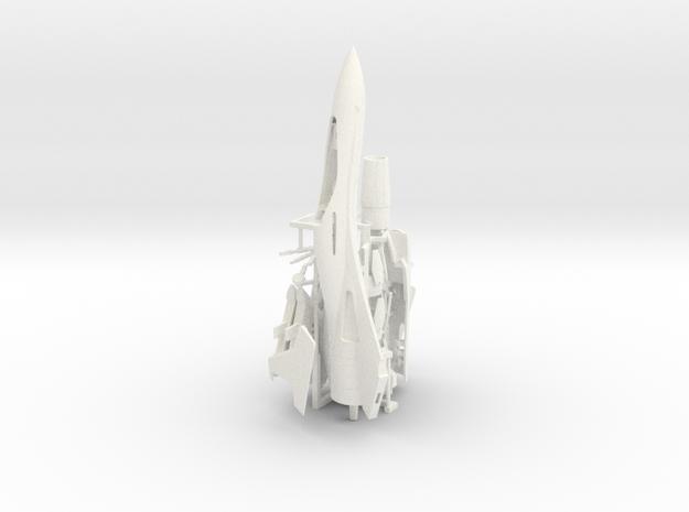 Kawamori KF40 in 1:72 scale in White Processed Versatile Plastic
