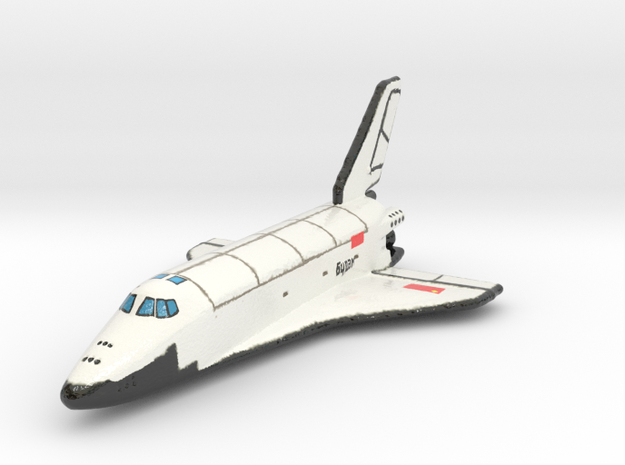 buran Full fixed_color 1:200 in Glossy Full Color Sandstone