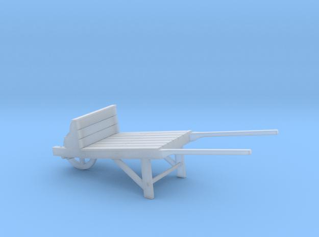 Wheelbarrow-01-25 in Smooth Fine Detail Plastic