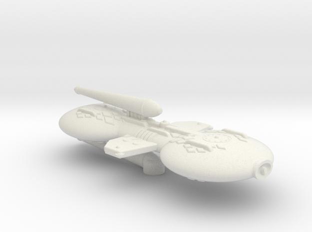 3125 Scale Gorn X-Ship Advanced Battle Destroyer+ in White Natural Versatile Plastic