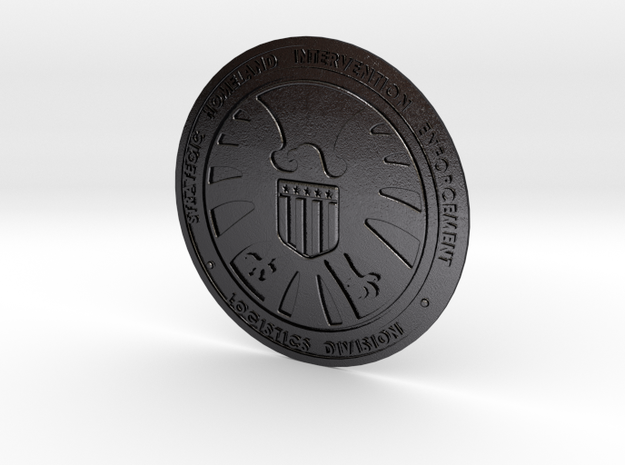 Shield badge 3d printed