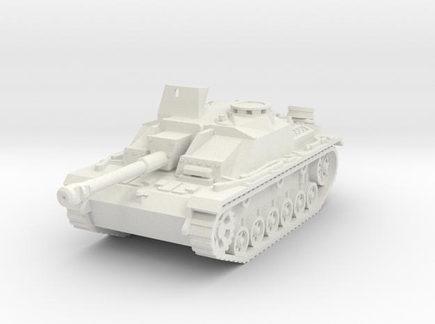 StuG III G mid 1/76 in White Natural Versatile Plastic