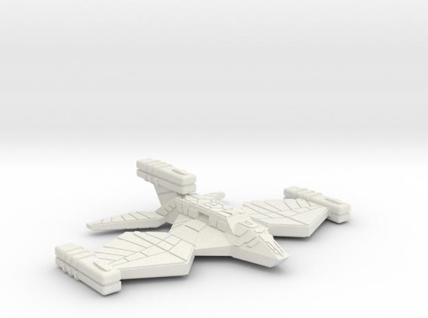 3788 Scale Paravian Frigate (FF) SRZ in White Natural Versatile Plastic