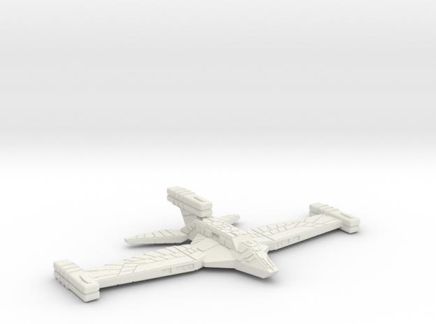 3788 Scale Paravian Heavy Cruiser (CA) SRZ in White Natural Versatile Plastic
