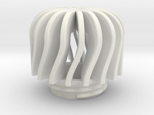 TeaC | Twist(18) *Md in White Natural Versatile Plastic