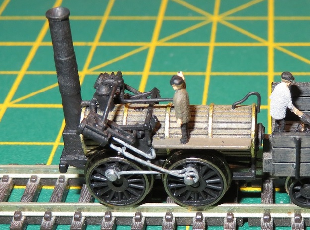 N Gauge Invicta Loco Scratch Aid (V2 Rebuilt) in Smooth Fine Detail Plastic