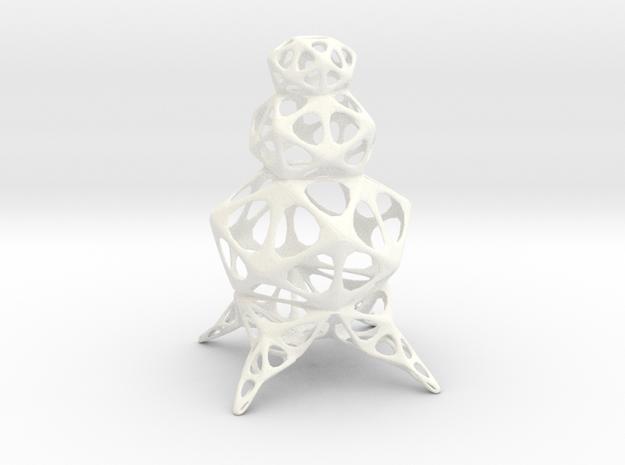 Snowman 3d printed