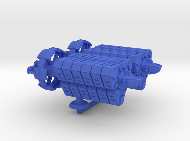 Fulla Class Heavy Transport - 1:20000 in Blue Processed Versatile Plastic