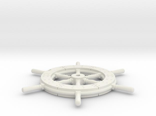 Higgins Wheel in White Natural Versatile Plastic
