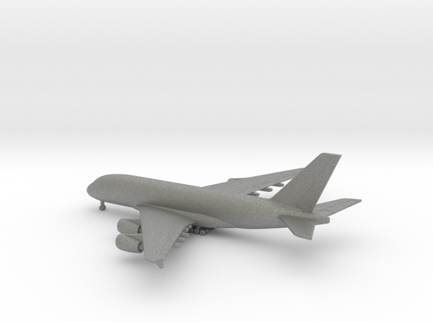 Airbus A380-800 in Gray PA12: 1:700