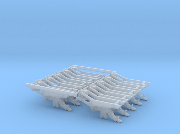 1.6bu HD Spring DF Large Pieces (10) in Smooth Fine Detail Plastic