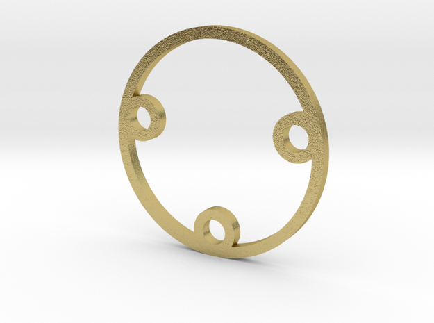 Part 01 SPG spacer in Natural Brass