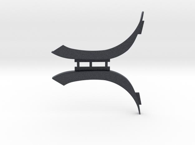 Radlaufeinsatz oben l/r für ScaleART MAN TGS in Black PA12