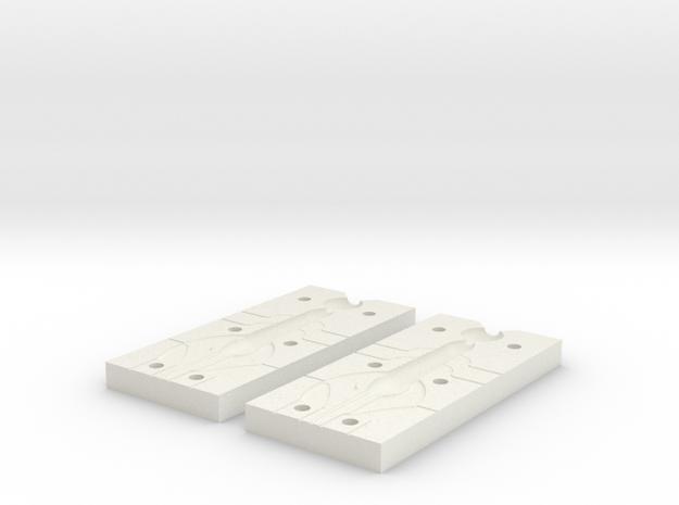 CrawFish Mold Replicator in White Natural Versatile Plastic