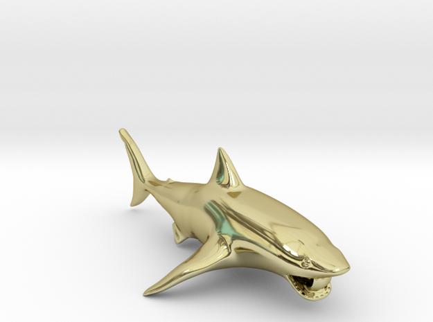 shark pendant 3d printed