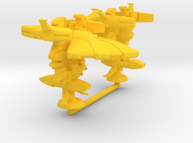 Achiyalatopa Class Lt Battler - 1:20000 in Yellow Processed Versatile Plastic