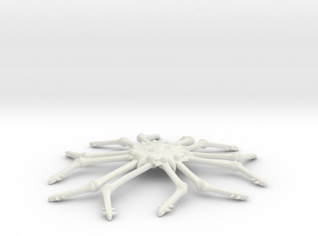 3125 Scale Monster Space Tarantula MGL in White Natural Versatile Plastic