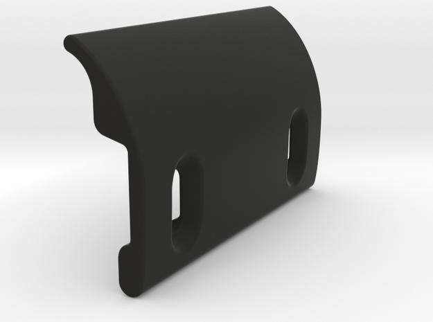 VW Karmann Ghia Type 34 bonnet latch deflector in Black Natural Versatile Plastic