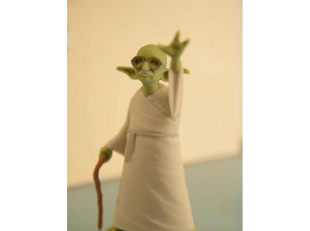 YoGandhi 3d printed Yoda Gandhi Star Wars full color sandstone print.