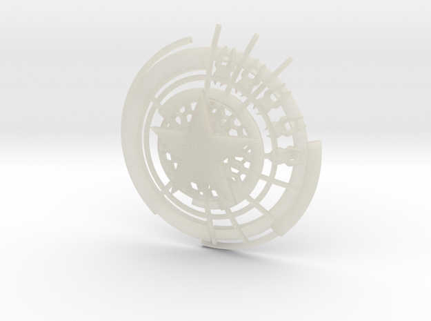 Captain America Shield: Prototype 3d printed