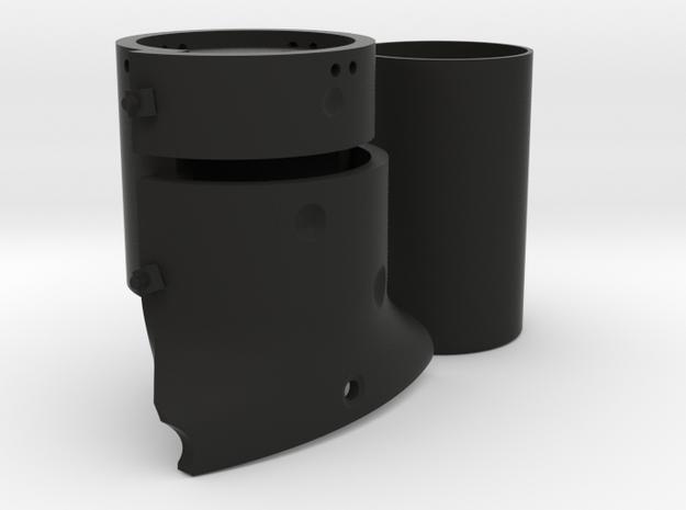 Ned Kelly Gang Outlaw Helmet Money Box in Black Natural Versatile Plastic
