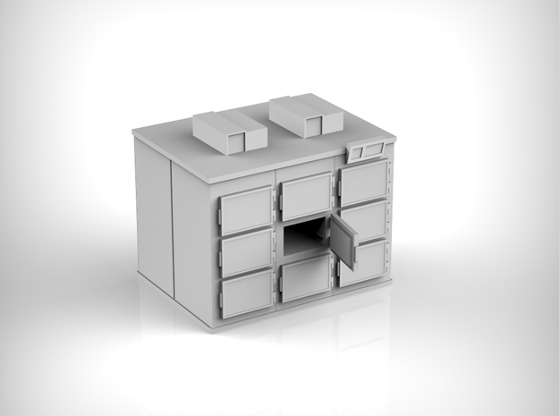 Cold Chamber 01. 1:160 Scale in Smooth Fine Detail Plastic