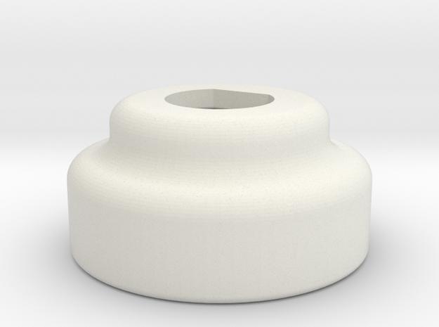 475 ink pump motor cap ver3 in White Natural Versatile Plastic