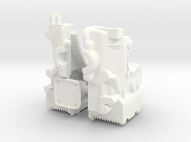 SR10003 Mk1 SRB Engine Part 3 of 6 in White Processed Versatile Plastic