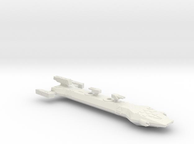 3125 Scale Borak Gunship CVN in White Natural Versatile Plastic