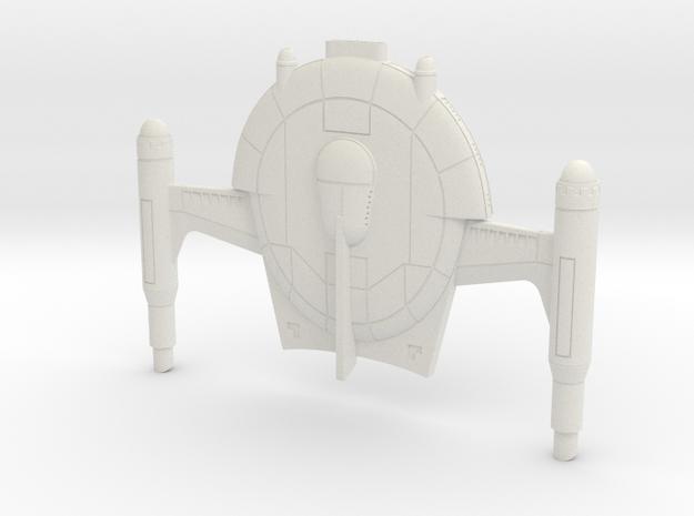 Romulan Capsize 1/1400 in White Natural Versatile Plastic
