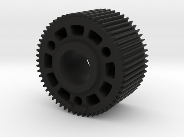 "Preston Standard 0.8 Module Gears. 1"" long in Black Natural Versatile Plastic"