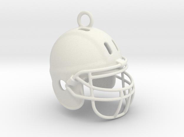 American football NFL helmet 2009290125 in White Natural Versatile Plastic