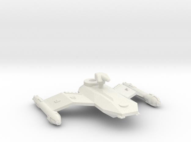 3125 Scale Borak Fast Destroyer (DDF) CVN in White Natural Versatile Plastic