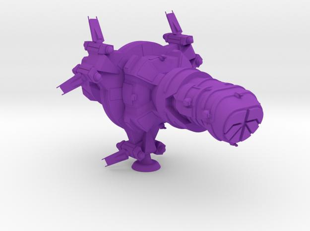 Flins Class Heavy Battler - 1:20000 in Purple Processed Versatile Plastic
