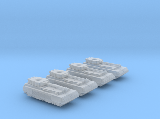 285 Scale Romulan Cassowary-T Tanks MGL in Smooth Fine Detail Plastic