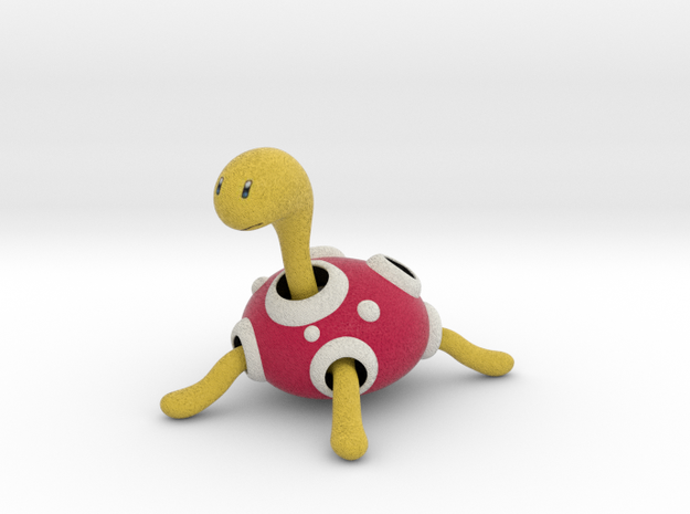 Shuckle - Pokemon - 60mm in Full Color Sandstone