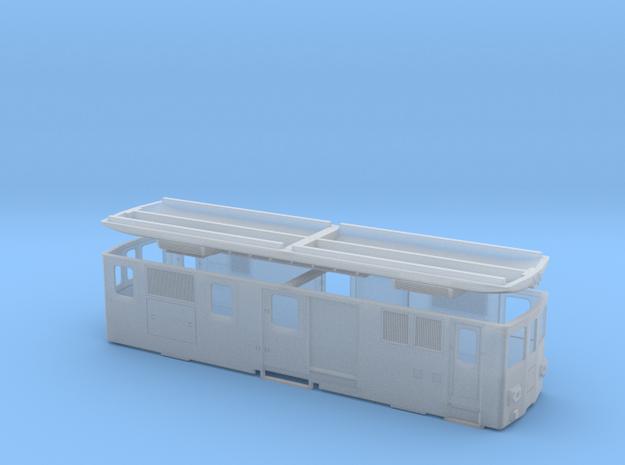 CJ De 4/4 II in Smooth Fine Detail Plastic: 1:120 - TT