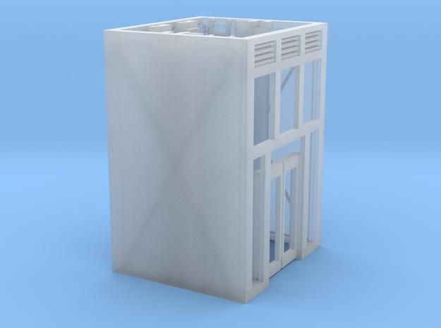 Aufzug Ein- Ausstieg Beton beidseitig in Smoothest Fine Detail Plastic