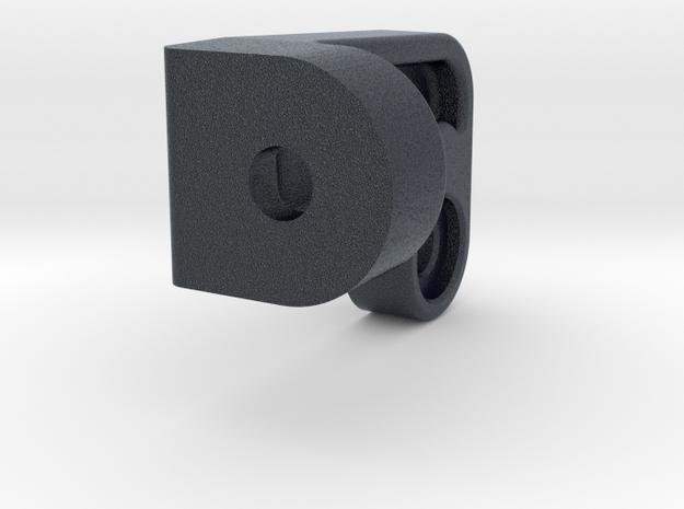 Regulator transmission to connector bar support in Black PA12
