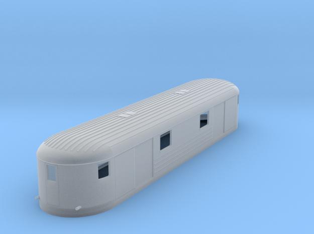 0-160fs-finnish-vr-dm7-railcar-goods-trailer in Smooth Fine Detail Plastic